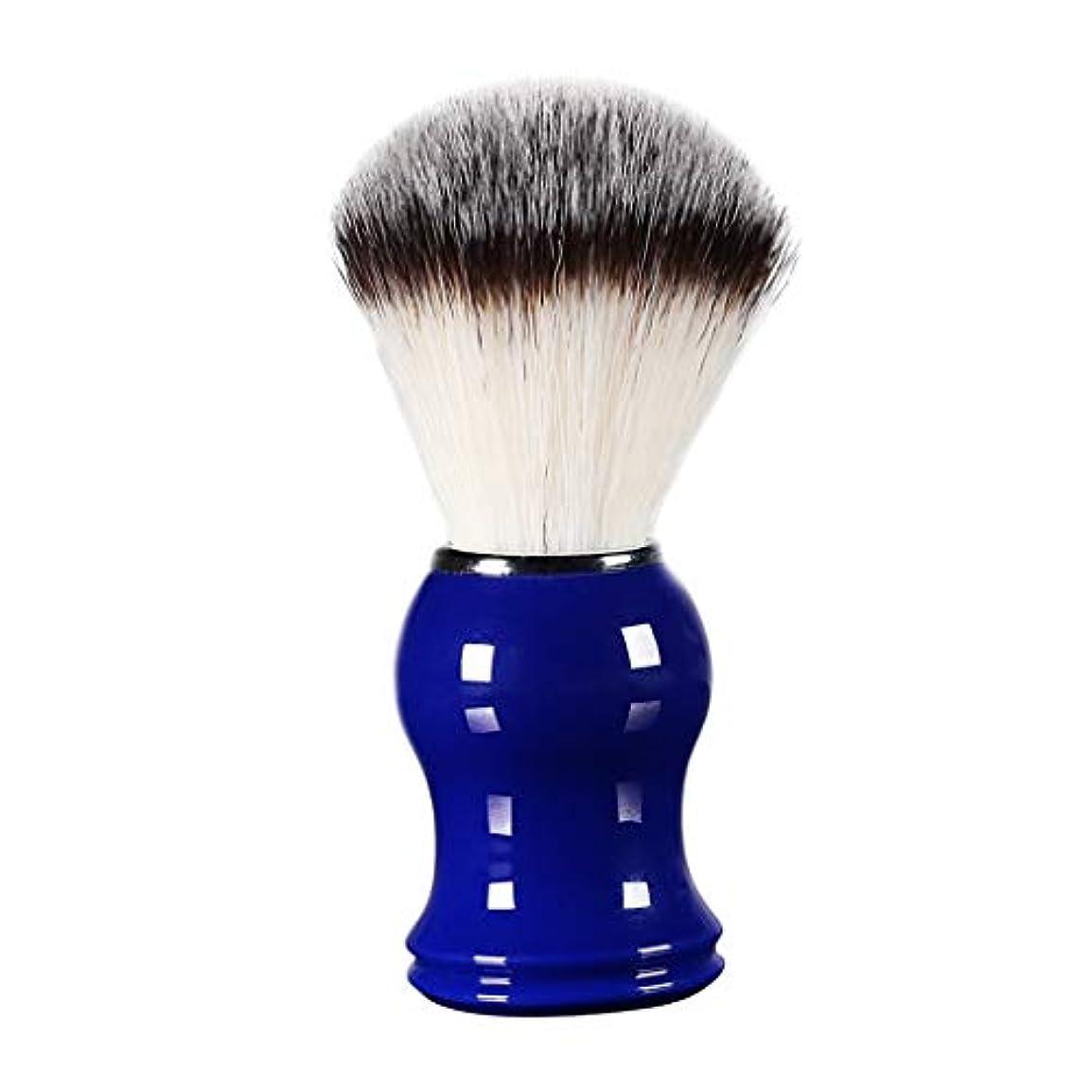 泥だらけ排気パラナ川床屋 サロン 髭剃り シェービングブラシ メンズ 泡立ち 洗顔 理容 約11cm