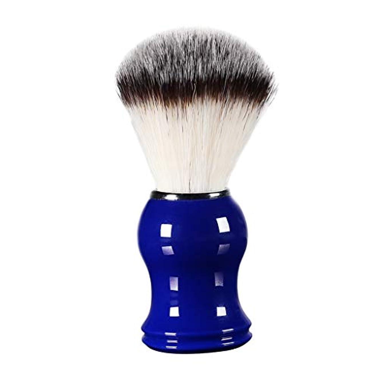 くつろぐ稚魚首謀者FLAMEER 床屋 サロン 髭剃り シェービングブラシ メンズ 泡立ち 洗顔 理容 約11cm