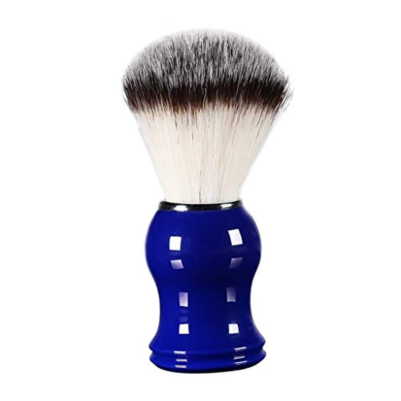 コンチネンタルパーク騙す床屋 サロン 髭剃り シェービングブラシ メンズ 泡立ち 洗顔 理容 約11cm