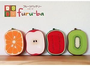 TBS「マツコの知らない世界」(5/16放送)で紹介されました!デバイスネット「フルーバ furu-ba 4000mAh」フルーツみたいなモバイルバッテリー。軽さを重視、たまご約2個分の重さ112g。急速充電機能搭載で充電時間を短縮。iPhone&Android/タブレット/ゲーム機/ポケットWi-Fi 等 プレゼントにもぴったりなかわいいパッケージ(オレンジ)
