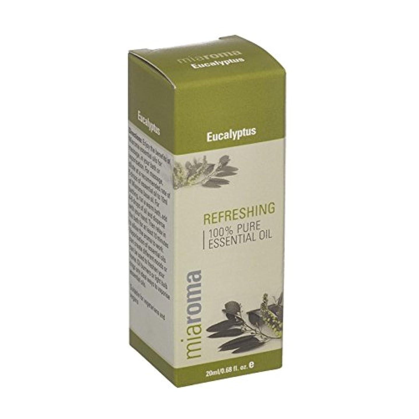 文言誤電話に出るMiaromaのユーカリの純粋な精油 - Miaroma Eucalyptus Pure Essential Oil (Miaroma) [並行輸入品]