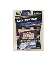 NASCAR Authentics Alex Bowman Diecast Car 1/64 Scale - 2018 60th Daytona 500 Special Edition - with Free Card - Collectible