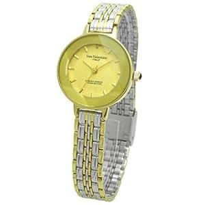 [アイザックバレンチノ]Izax Valentino 腕時計 ラウンドタイプ 1P天然ダイヤモンド カットガラス メタルウォッチ ゴールド IVL-200-1 レディース