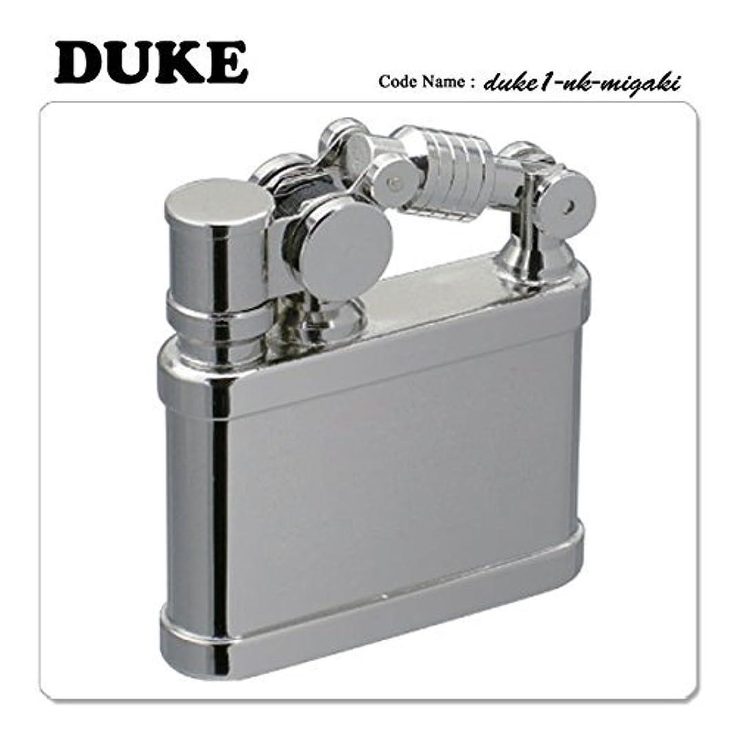 大学鎮痛剤ブリッジDUKE デューク1 オイルライター ニッケル磨き