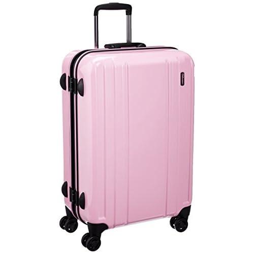 [エミネント] EMINENT スーツケース ブラックフレーム 69cm 58L ポリカーボネート100% 75-31530 6 (ピンク)