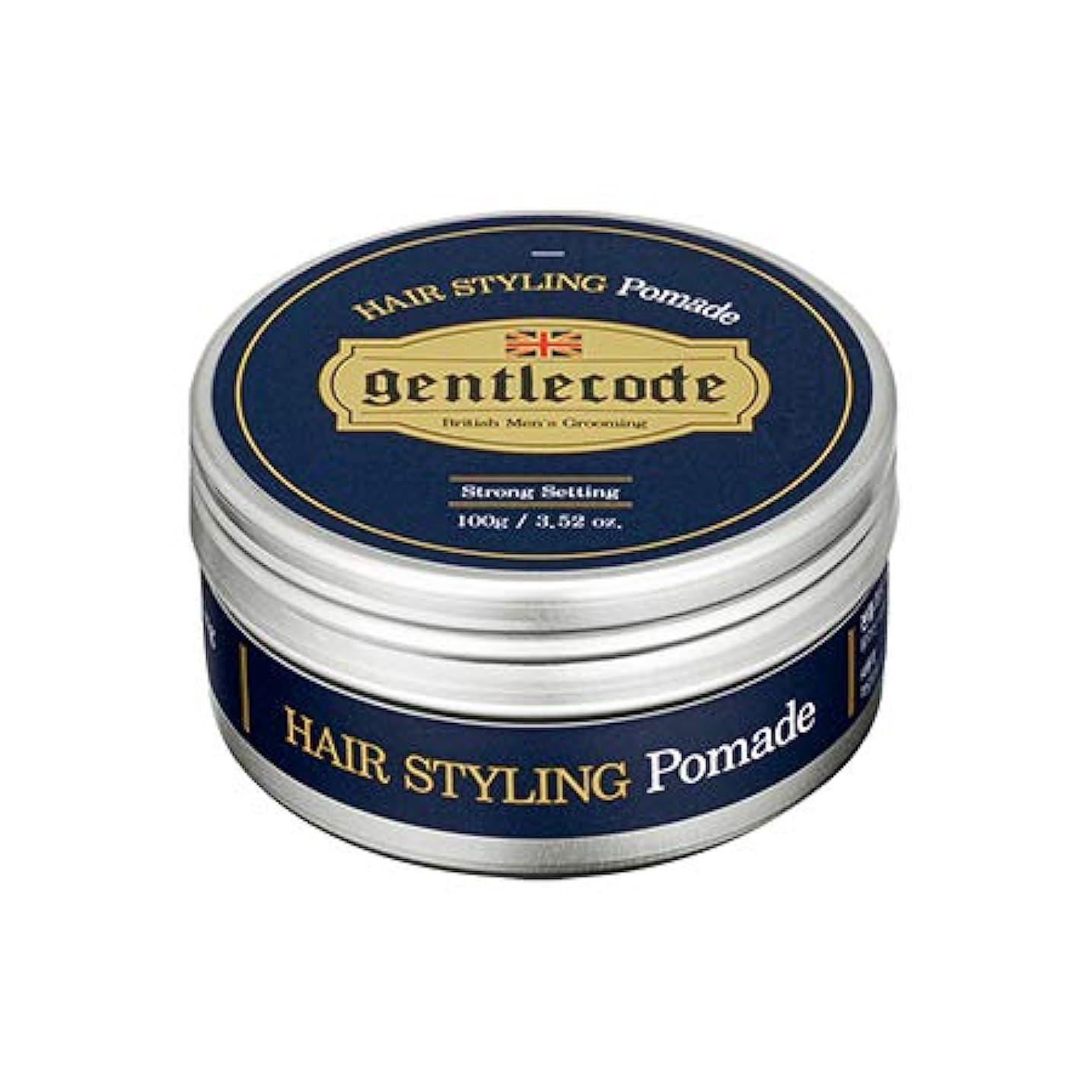 とティーム中性宇宙の【ジェントルコード.gentle code]ヘアスタイリングポマード(100ml)/ hair styling pomade