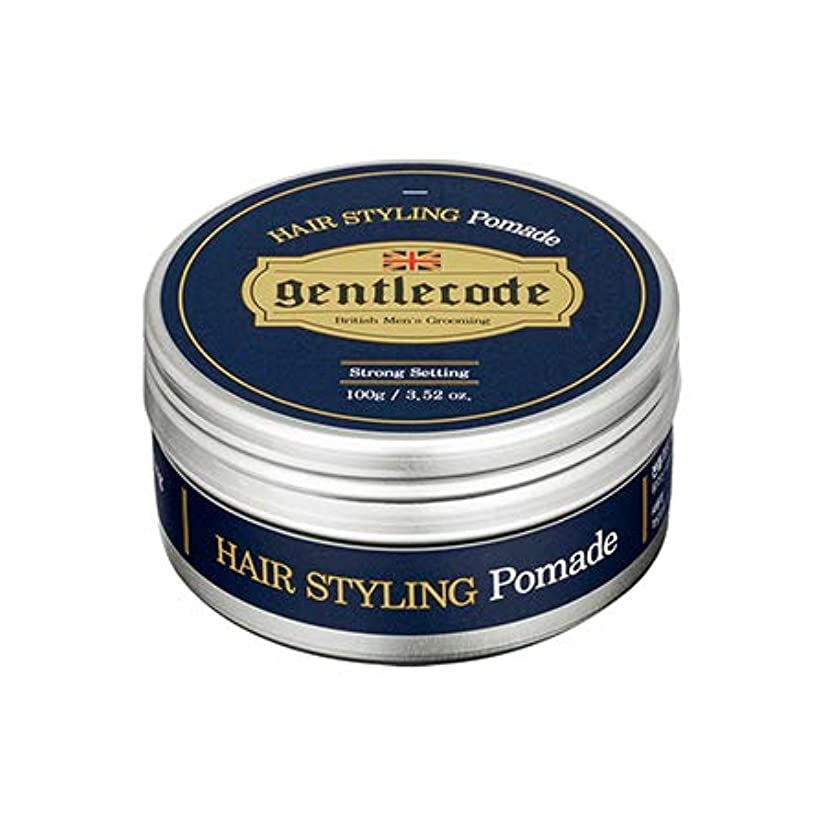 あたり始める酔っ払い【ジェントルコード.gentle code]ヘアスタイリングポマード(100ml)/ hair styling pomade