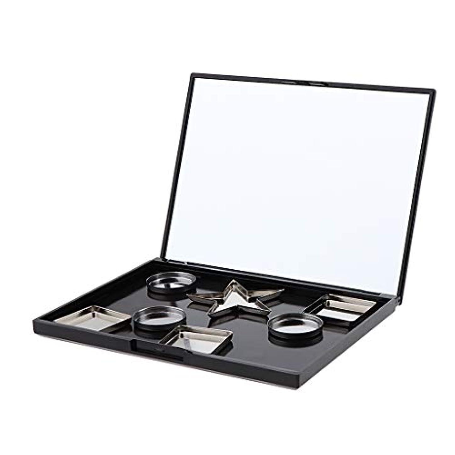 ブラウザ資格情報ピクニック磁気 空 アイシャドウケース パレット メイクボックス 旅行小物 全3選択 - パン付き#2