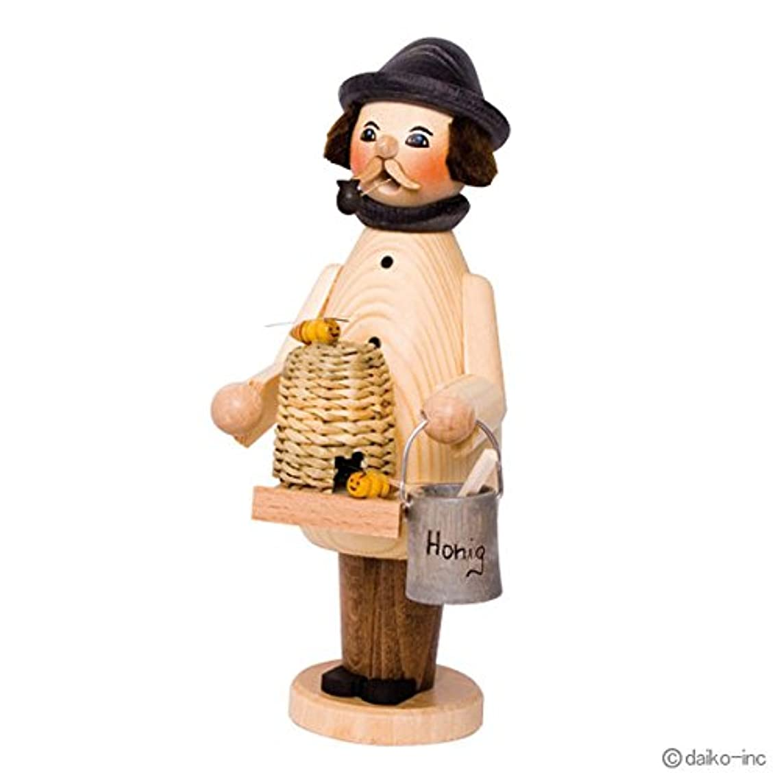 雪だるまを作る酸化する闘争kuhnert ミニパイプ人形香炉 養蜂家