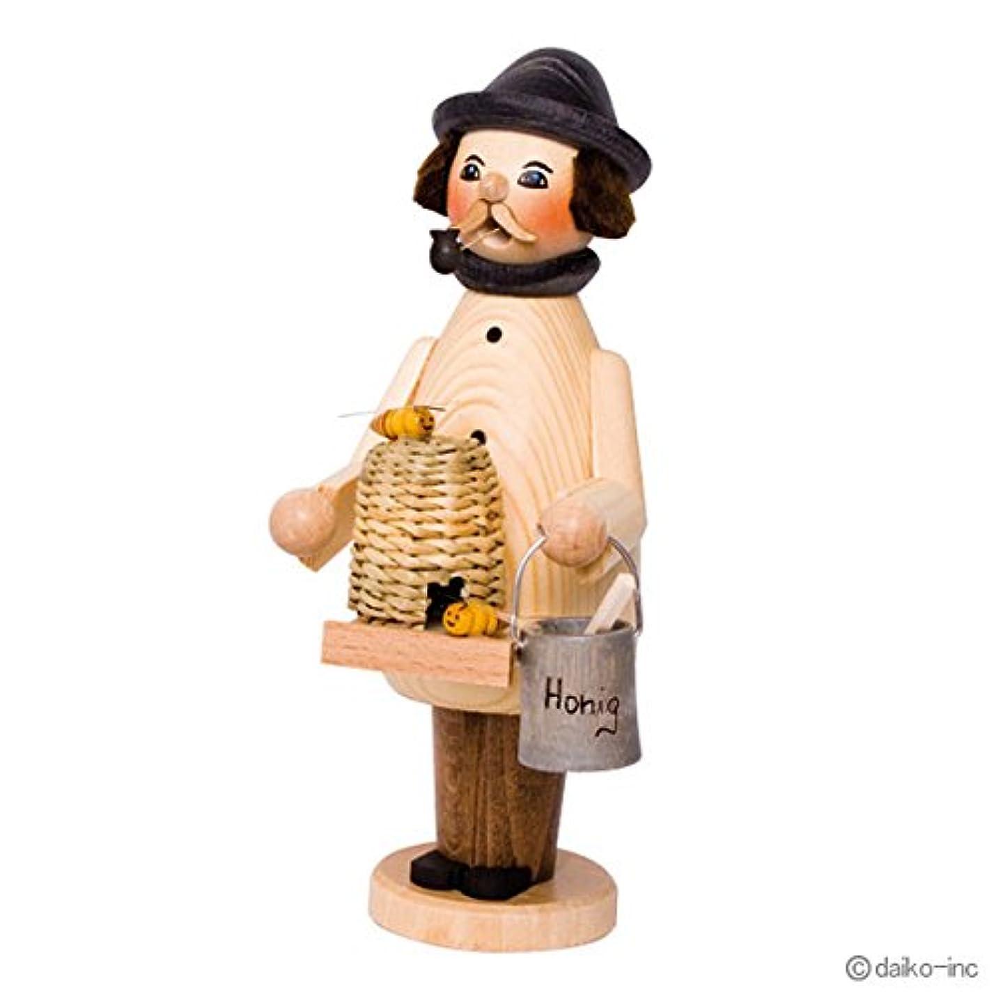 四分円ずらすカップkuhnert ミニパイプ人形香炉 養蜂家