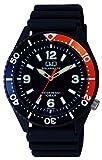 [シチズン Q&Q] 腕時計 アナログ ソーラー 防水 ウレタンベルト H064-007 メンズ ネイビー