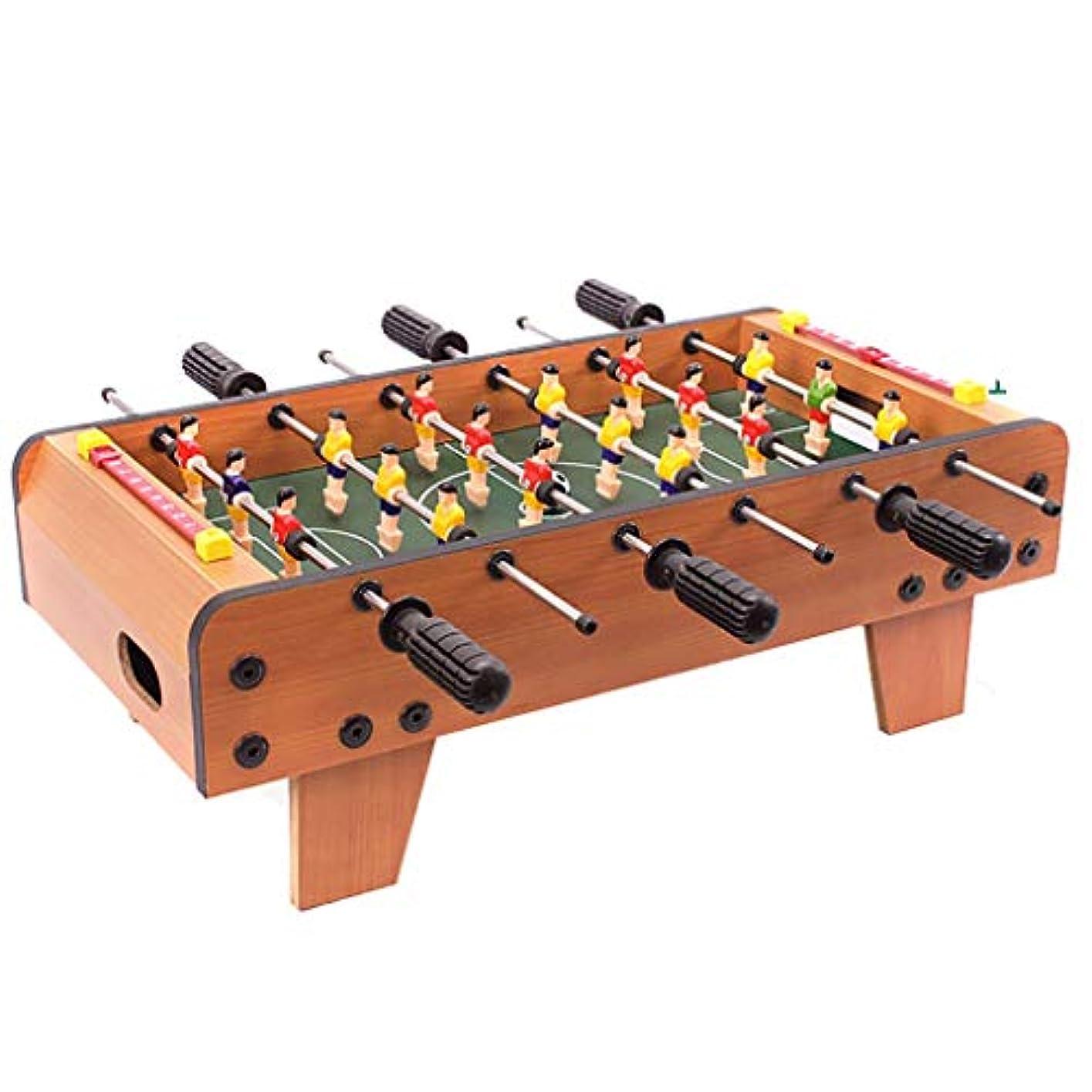 隔離するメルボルン税金テーブルサッカープールテーブルゲームテーブル子供のおもちゃ健康的なおもちゃパズルゲームおもちゃ4歳以上ビリヤードゲームギフト用子供 (Color : WOOD COLOR, Size : 69*37*24CM)