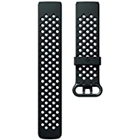 Fitbit FB168SBBKS Fitbit Charge 3 - Sport Band, Black, Small, Black