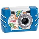 フィッシャープライス キッズ・タフ・デジタルカメラ スリム (ブルー) (W1459)