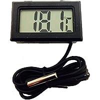 簡単便利 小型デジタル 温度計 -50℃~+99.9℃対応