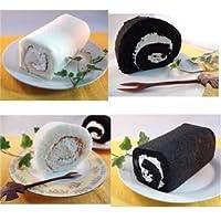 白黒ロールケーキセット 4本【代引不可】