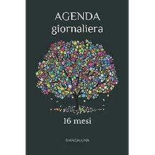 AGENDA giornaliera: 16 mesi (Italian Edition)