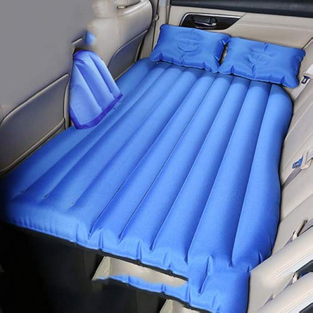 登山家木曜日スラッシュビジネス車の多機能車の空気クッション SUV の小型トラックの空気マットレスのキャンプのベッドの空気ポンプが付いている睡眠のパッドの空気マットレス,Siameseblue