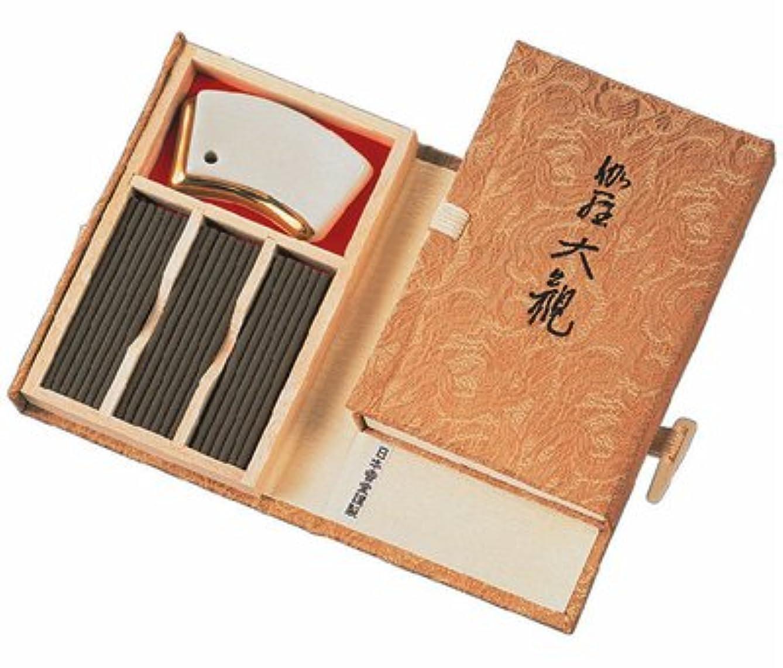 ジェスチャー四分円適格伽羅大観 お香 45本入