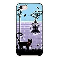 (カリーナ) Carine GALAXY S5 SC-04F 薄型 ブラック スマホケース スマホカバー sc121(B) 猫 cat キャット ストリート ギャラクシー スマートフォン スマートホン 携帯 ケース ギャラクシーS5 ハード プラ スマフォ カバー