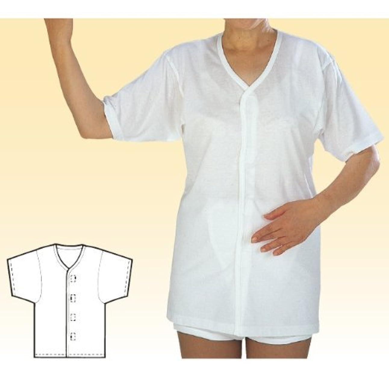 航海の有罪焼く幸和製作所 テイコブワンタッチ肌着半袖婦人用涼タイプ UN12W M