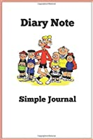 Diary Note: Simple Journal