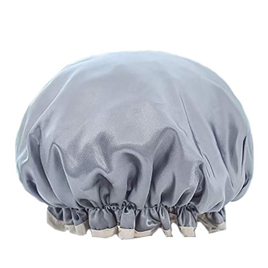土器ラジカルりMaltose シャワーきゃっぷ 防水シャワーキャップ 化粧帽 ふわふわ柔軟 色落ちしない 温泉 2枚セット