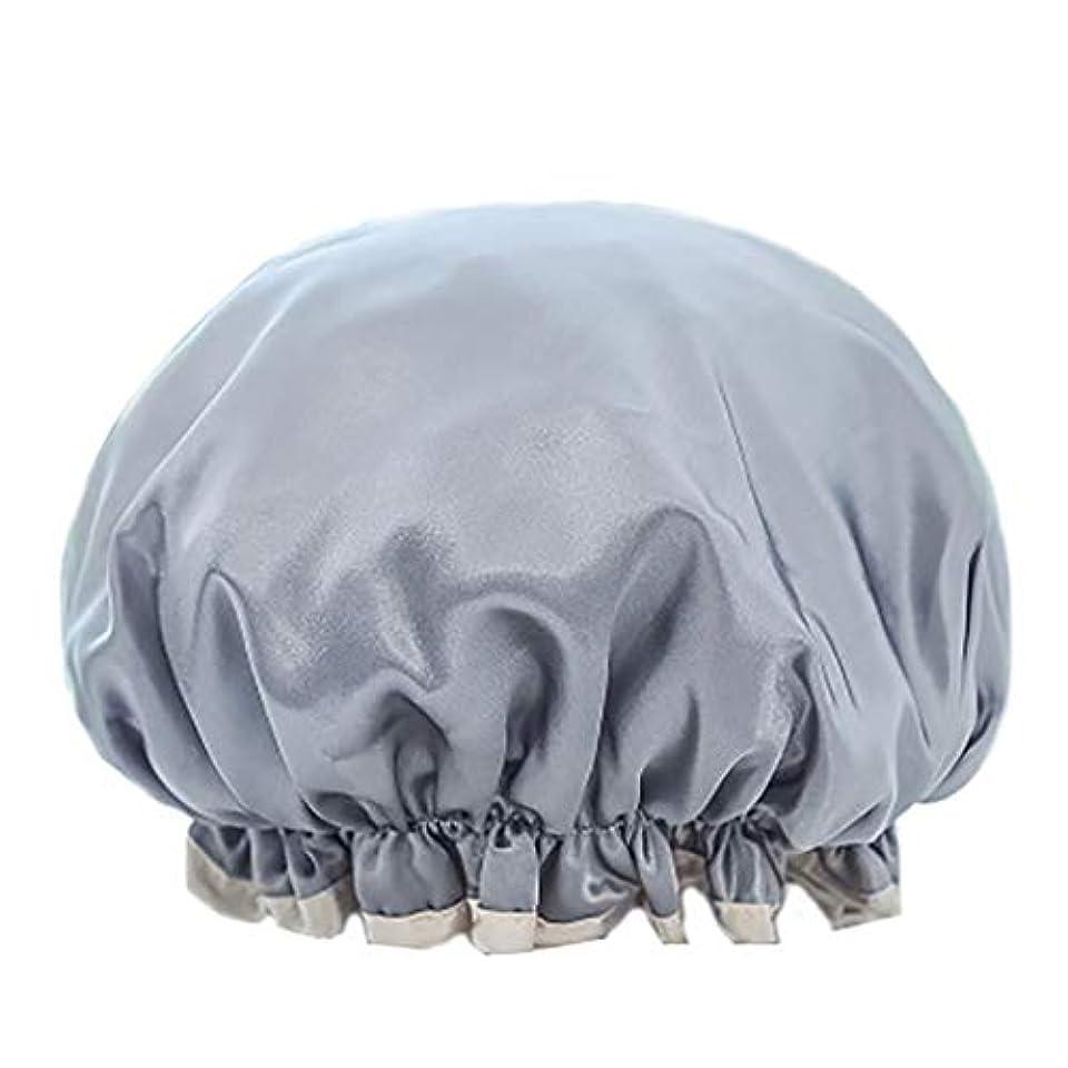 透過性書き出す確認Maltose 化粧帽 ダブル防水シャワーキャップ ふわふわ柔軟 色落ちしない 2枚セット