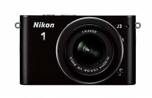Nikon ミラーレス一眼 Nikon 1 J3 ボディー ブラック N1J3BK