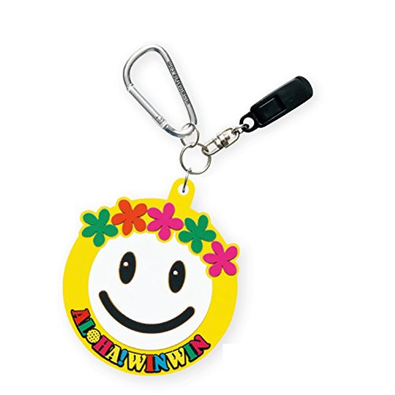 WINWIN STYLE(ウィンウィンスタイル) ALOHA SMILE PUTTER CATCHER RUBBER TYPE PC-120 ユニセックス PC-120 イエロー 用途:パターキャッチャー&ネームタグ