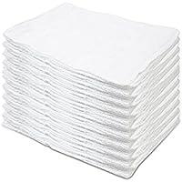 訳アリ 白タオル 50枚セット クロス 雑巾 ダスター 業務用 タオル 大量セット 23x23