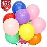PROLOSO ラテックスバルーン 150個 アソートカラー 12インチ パーティー用品