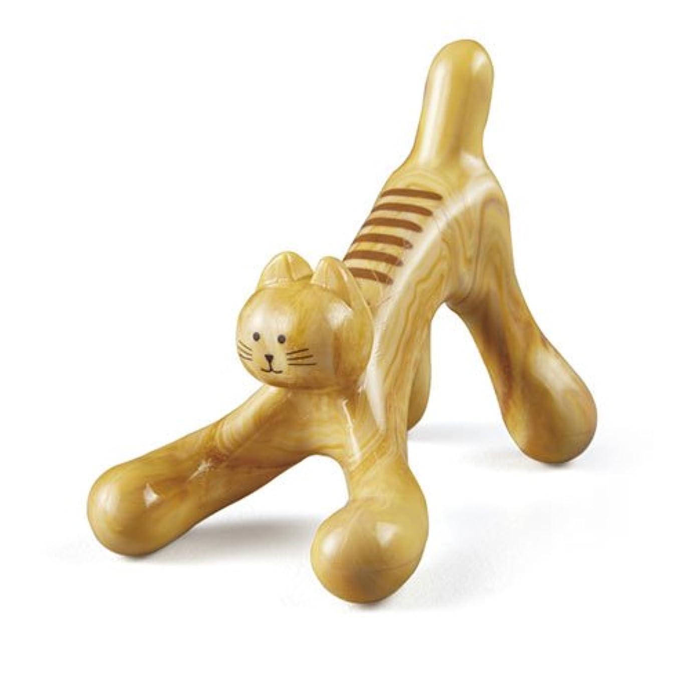 ピニオン取り付け豪華なロコレッチ 癒しの猫ほぐし NH3130