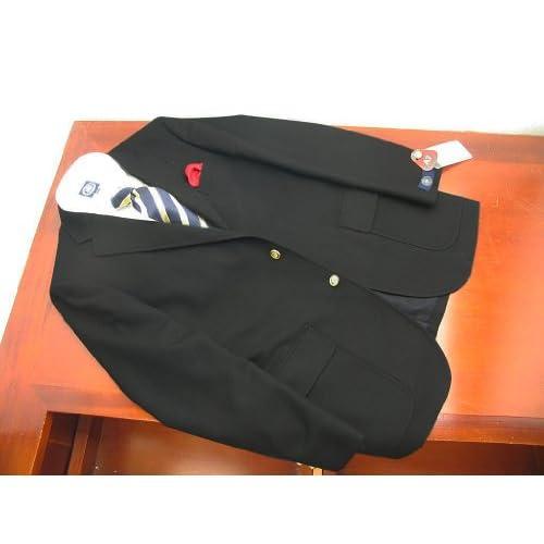 (ジェイプレス) J.PRESS秋冬春 トラッド1型紺ブレザー サキソニー B8