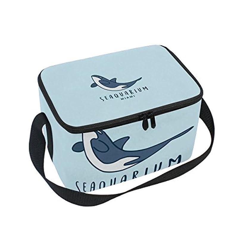 より良いスリチンモイマイコンクーラーバッグ クーラーボックス ソフトクーラ 冷蔵ボックス キャンプ用品 海 鯨柄 保冷保温 大容量 肩掛け お花見 アウトドア