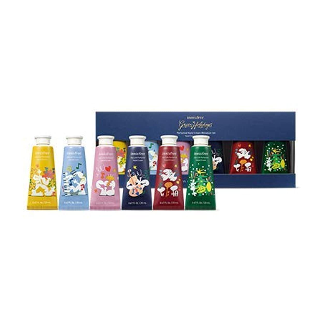 馬力政権マサッチョ[イニスフリー.INNISFREE](ホリデー限定版)パフュームドハンドクリームミニチュアセット20mL*6ea/ Perfumed handcream Miniature Set(HOLIDAY LIMITTED)