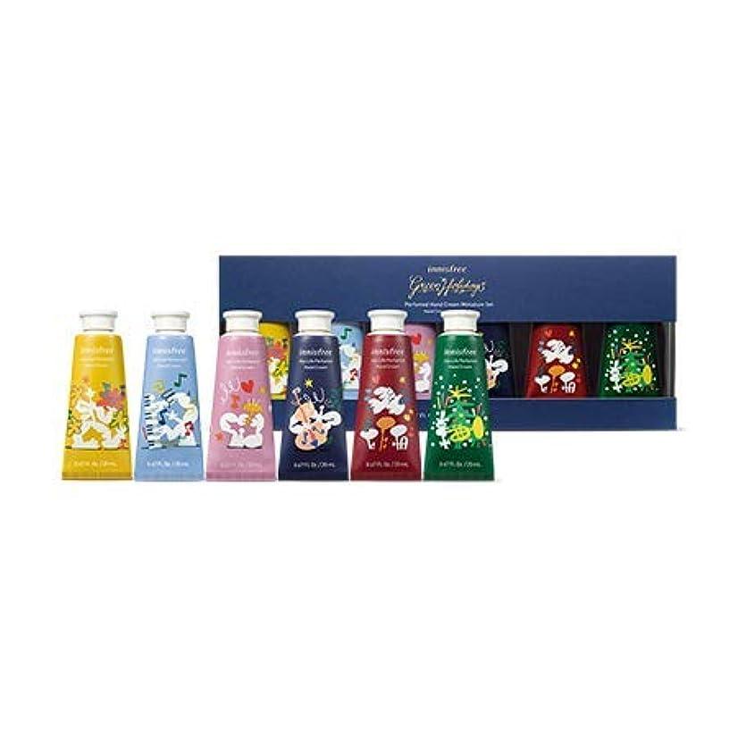 偶然のお茶仕事[イニスフリー.INNISFREE](ホリデー限定版)パフュームドハンドクリームミニチュアセット20mL*6ea/ Perfumed handcream Miniature Set(HOLIDAY LIMITTED)