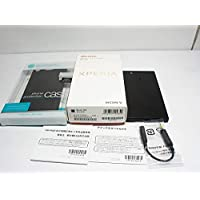 Xperia XZ1 Compact SO-02K black
