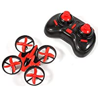 [(バンコク) bangcool] [bangcool Mini RC Drone, 5 Year Old Boy Gifts for Kids 2.4G Mini UFO Quadcopter with 6-Axis Gyroscope, Headless Mode 3D Flip One Key Return (Red)] (並行輸入品)