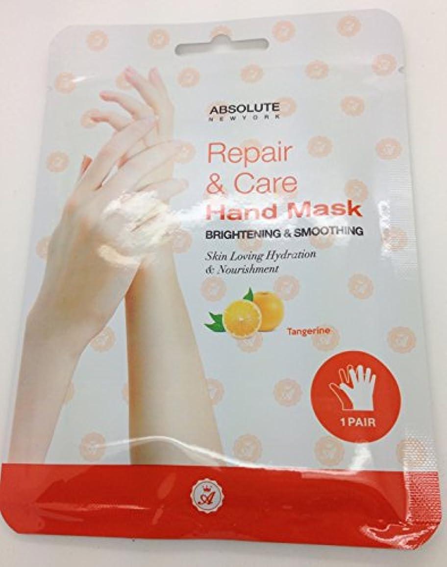 ドラマ教養があるまたはAbsolute Repair & Care Hand Mask - Tangerine (並行輸入品)