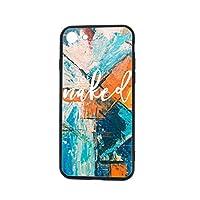 Ericba Get Maked IPhone 7/8 ケース ケース スマホケース アイフォンケース アイフォンテン ケー 強化ガラス電話ケース カップル電話ケース 薄型 軽量 ソフトTPU 指紋防止 耐衝撃 全面保護 おしゃれ 人気