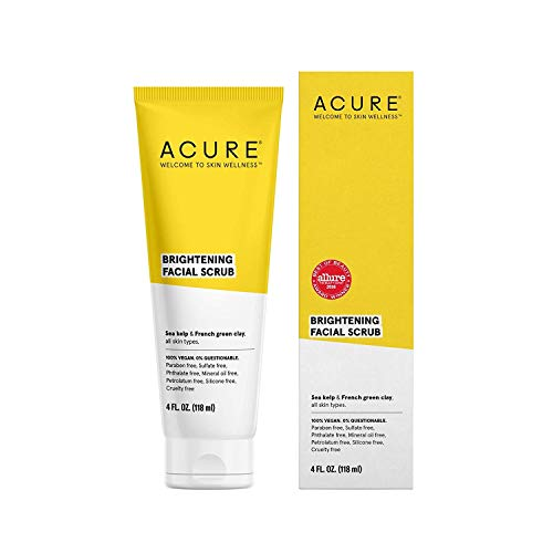 Acure Brightening Facial Scrub, 4 Ounce by Acure
