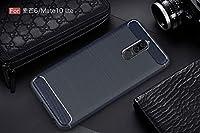 スマホケース ケース Huaweiのケースの電話ケースカバーHuawei6のTPU保護ケースmate10lite (Color : BLUE)