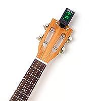 Kmise チューナー JOYO JT-01 クリップ式チューナー アコースティックギター/ベースギター/バイオリン/ウクレレに対応 スクエアタイプ