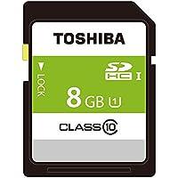 東芝 SDHCカード 8GB Class10 UHS-I対応 (最大転送速度48MB/s) 日本製 THN-NW08G4R8