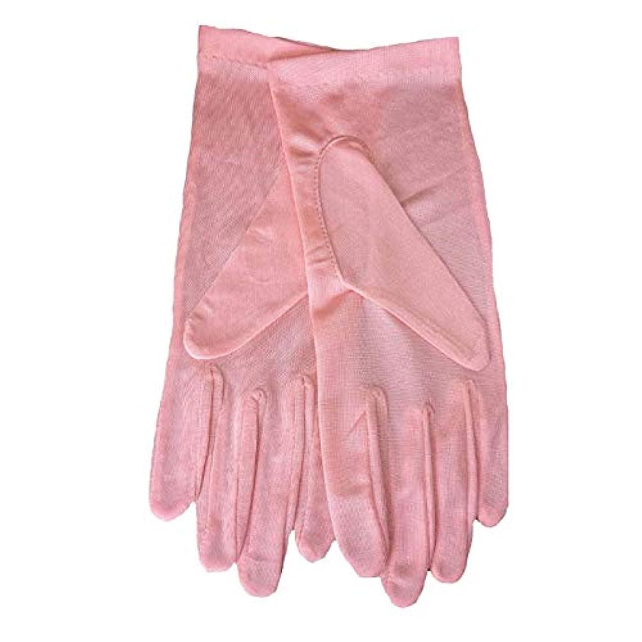無一文するサーキットに行く夜用 おやすみ用 シルク手袋 手荒れ 対策 レディース保湿 ハンドケア 絹手袋手袋
