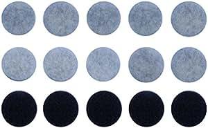 アーランド バスポンプの備長炭ゴミ取りフィルター 10回分 (スポンジフィルター5枚+交換用フィルター10枚) G-26-10