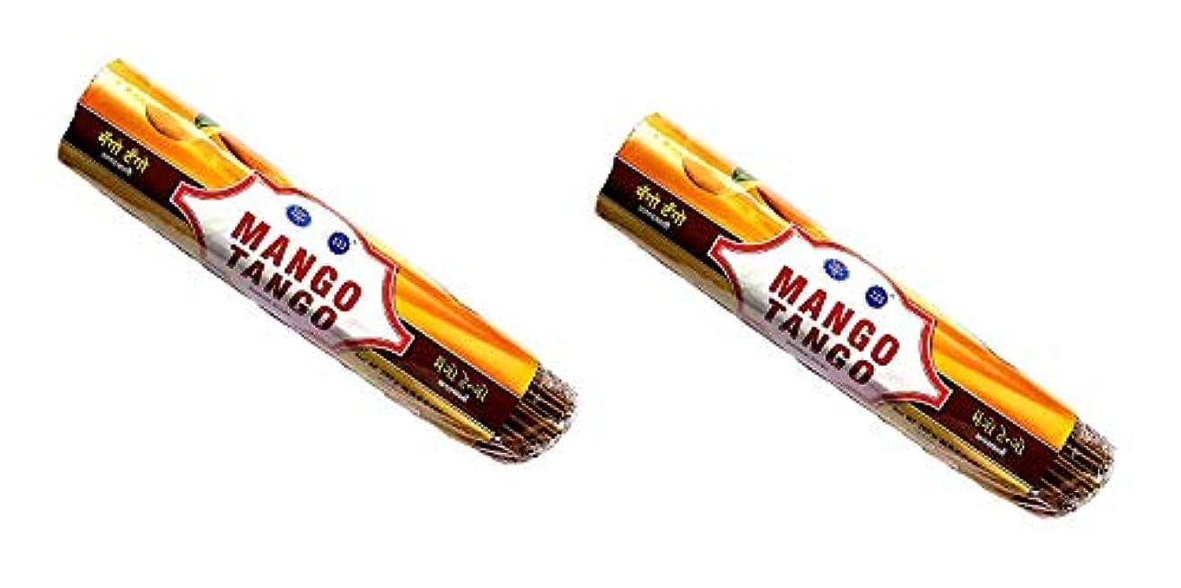 絶え間ないアソシエイト市場Mango Tango Insense Sticks Pack of 2 (250g x 2)