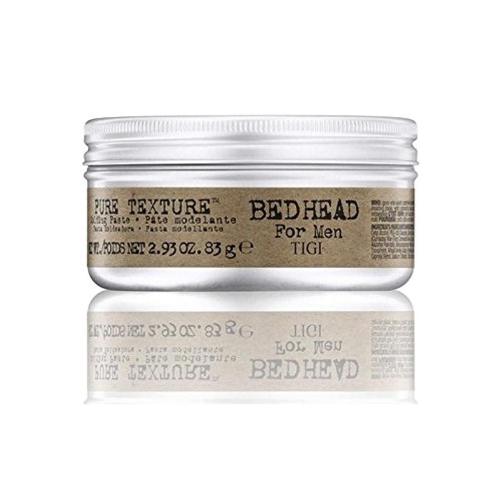 爆発物波紋団結する男性の純粋なテクスチャーモールディングペースト(83グラム)のためのティジーベッドヘッド x4 - Tigi Bed Head For Men Pure Texture Molding Paste (83G) (Pack...