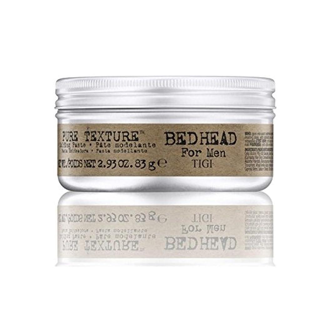 アシストジャンクション期待するTigi Bed Head For Men Pure Texture Molding Paste (83G) (Pack of 6) - 男性の純粋なテクスチャーモールディングペースト(83グラム)のためのティジーベッドヘッド...